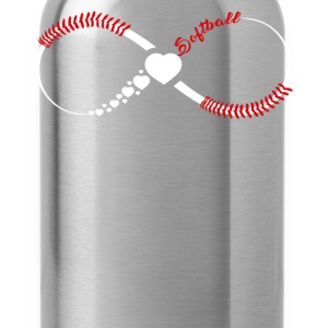 Softball Infinity Shirts - Water Bottle