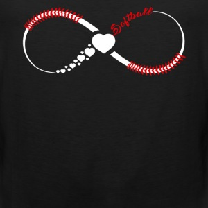 Softball Infinity Shirts - Men's Premium Tank