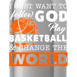Play Basketball Shirt - Water Bottle