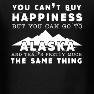 Happiness And Alaska Tee - Men's T-Shirt