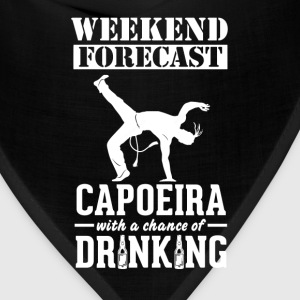 Capoeira Weekend Forecast & Drinking T-Shirt T-Shirts - Bandana