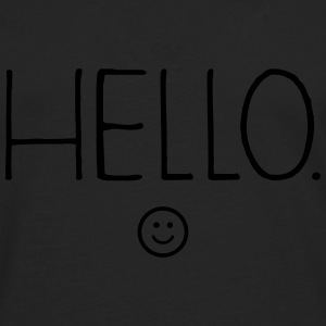 Hello :) T-Shirts - Men's Premium Long Sleeve T-Shirt