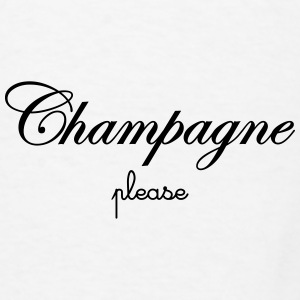 Champagne Please Mugs & Drinkware - Men's T-Shirt