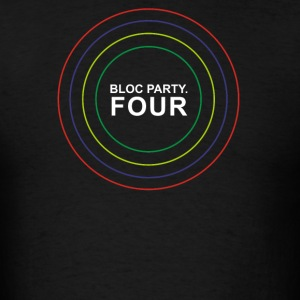 Bloc Party Four Indie Punk Rock Kele Pin Me Down - Men's T-Shirt