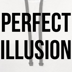 Perfect illusion T-Shirts - Contrast Hoodie