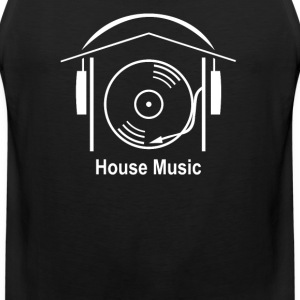 House Music - Men's Premium Tank