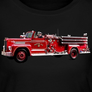 Antique Fire Engine Long Sleeve Shirts - Women's Long Sleeve Jersey T-Shirt