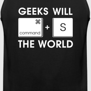 GEEKS will SAVE the WORLD Mac version - Men's Premium Tank