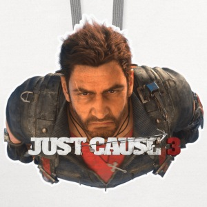 NOT OFFICIAL JUST CAUSE 3 SHIRT - Contrast Hoodie
