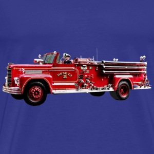 Antique Fire Engine Bags & backpacks - Men's Premium T-Shirt