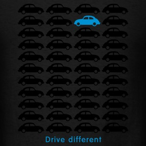 Beetle Car - Drive different Long Sleeve Shirts - Men's T-Shirt