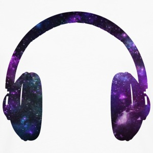 Space Headphones - Men's Premium Long Sleeve T-Shirt