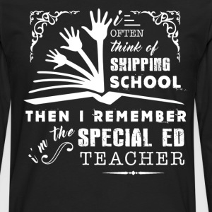 Im The Special Ed Teacher - Men's Premium Long Sleeve T-Shirt
