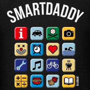 Smartdaddy (Daddy / Dad / NEG / PNG) Sportswear - Men's T-Shirt
