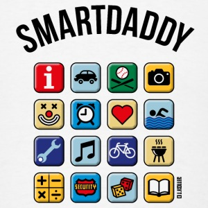 Smartdaddy (Daddy / Dad /POS / PNG) iPad 2/3 Case - Men's T-Shirt