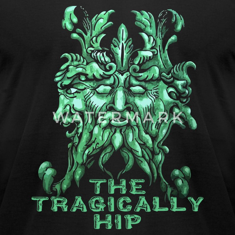 The Tragically Hip Show - Men's T-Shirt by American Apparel