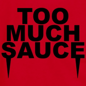 Too much sauce T-Shirts - Unisex Fleece Zip Hoodie by American Apparel