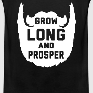 Grow Long and Prosper - Men's Premium Tank