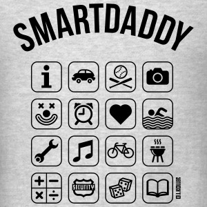 Smartdaddy (Daddy / Dad / SVG) Sportswear - Men's T-Shirt