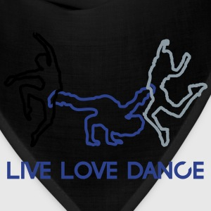 live-love-dance T-Shirts - Bandana