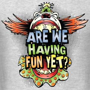 Creapy Clown Having Fun Long Sleeve Shirts - Men's T-Shirt