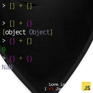 Javascript - Love is blind - Bandana