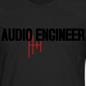 Audio Engineer Wave - Men's Premium Long Sleeve T-Shirt