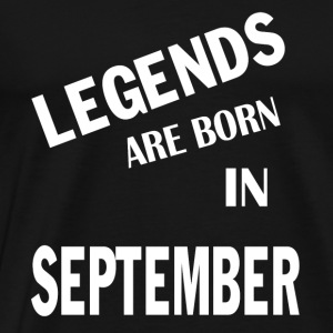 September Legends Hood - Men's Premium T-Shirt