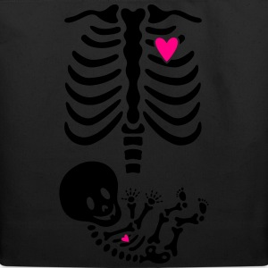 Skelly Baby Skeleton Maternity Unisex - Eco-Friendly Cotton Tote