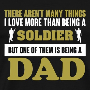 Soldier Dad Shirt - Men's Premium T-Shirt