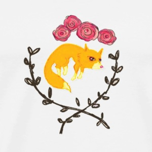 FoxFloral - Men's Premium T-Shirt