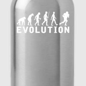 American football Evolution T-Shirt T-Shirts - Water Bottle
