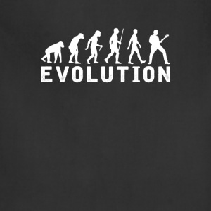 Bassist Evolution T-Shirt T-Shirts - Adjustable Apron