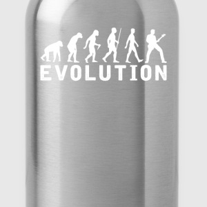 Bassist Evolution T-Shirt T-Shirts - Water Bottle