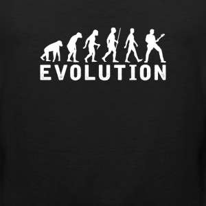 Bassist Evolution T-Shirt T-Shirts - Men's Premium Tank