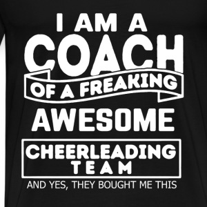 Proud Cheerleading Coach - Men's Premium T-Shirt
