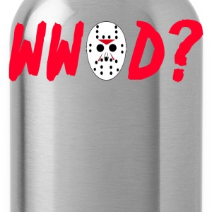 What Would Jason Do? Friday The 13th T-Shirts - Water Bottle