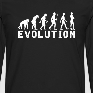 Feminist Evolution T-Shirt T-Shirts - Men's Premium Long Sleeve T-Shirt