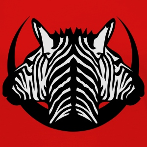dual head zebra logo 5 T-Shirts - Women's Premium Long Sleeve T-Shirt