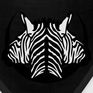 dual head zebra logo 5 Long Sleeve Shirts - Bandana