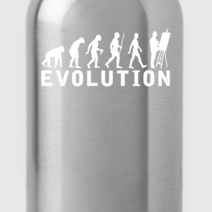 Painting Evolution T-Shirt T-Shirts - Water Bottle