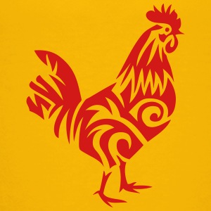 tribal cock rooster 107 Kids' Shirts - Toddler Premium T-Shirt