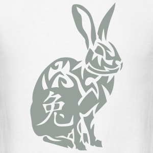 rabbit zodiac sign  2chinese Hoodies - Men's T-Shirt