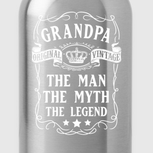 Grandpa The Man The Myth The Legend T-Shirt T-Shirts - Water Bottle