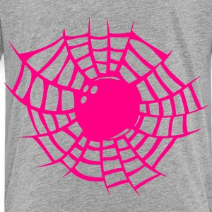 bowling spider web sports Kids' Shirts - Toddler Premium T-Shirt