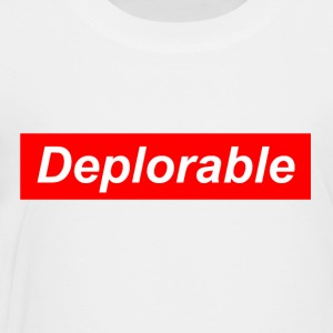 Deplorable - Toddler Premium T-Shirt