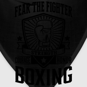 boxing: fear the fighter T-Shirts - Bandana