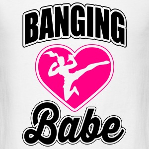 Martial Arts: banging babe Tanks - Men's T-Shirt