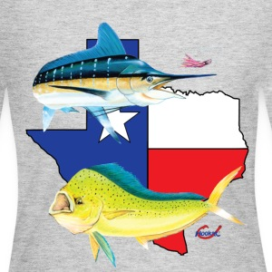 Texas Marlin and Dolphin  T-Shirts - Women's Long Sleeve Jersey T-Shirt