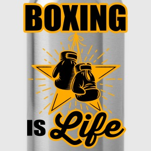 boxing is life Tanks - Water Bottle